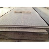 Wholesale High Strength Checkered Steel Plate , Low Carbon Steel Diamond Plate Floor from china suppliers