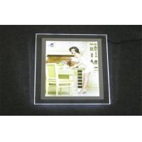 Wholesale Extremely Slim 10.5MM Crystal Acrylic Led Light Box , Huga Chip For Outdoor Sign from china suppliers
