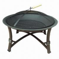 Buy cheap Round Fire Pit, Sized 74 x 46cm from wholesalers