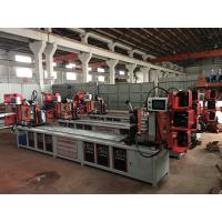 Wholesale Assemble Shelf Auto Pipe Welding Machine 3 Faces / 4 Faces Goods Shelf Beam Welding from china suppliers