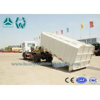 Quality Detachable Carriage Hook Lift Waste Management Trucks With Mechanical Suspension for sale