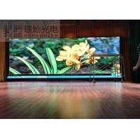 Wholesale P4 Exhibitions High Brightness Indoor LED Displays 2000w / ㎡ Power Consumption from china suppliers