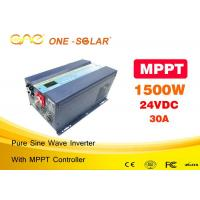 Wholesale 1500 Watt Pure Sine Inverter Off Grid 2kva With MPPT Solar Controller from china suppliers