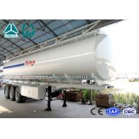 Wholesale 3 Axle Crude Oil Fuel Tank Semi Trailer with Single Cabin A / C , 36 Cbm Volume from china suppliers