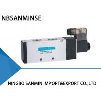 Wholesale 3 Way 2 Position Pneumatic Solenoid Valve , 4V 400 Series Pneumatic Pilot Valve from china suppliers