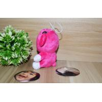 Wholesale Valentine's Day gift 10CM 3D Face Dolls Stuffed Plush Photo Mask toys Purple bear from china suppliers