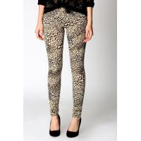 Woman's Spandex Allover Printed Knit Leggings
