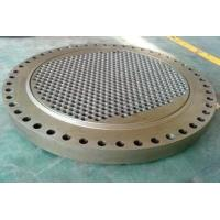 Wholesale Custom Carbon Steel Heat Exchanger Tube Plate For  Dyeing Machine from china suppliers