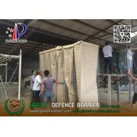 Quality MIL19 2.74m high HESCO Defensive Barrier for Military Security | ISO certificated China company for sale