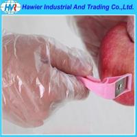 Quality pe food disposable gloves for sale