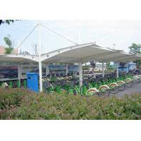 Wholesale Outdoor Double Car Canopy Shade Awnings , Park Shade Structures Steel Frame from china suppliers