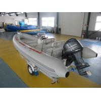 Wholesale Adhesive Structure Inflatable Fishing Boats Multi Function 540cm For Water Sightseeing from china suppliers