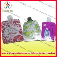 Wholesale Heat Sealed Pe Spout Pouch Packaging 50ml / 60ml For Beverage from china suppliers