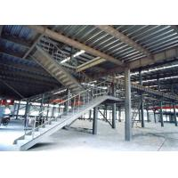Buy cheap Heavy Pre Engineered Prefabricated Steel Stairs Earthquake Proof Energy Saving from wholesalers