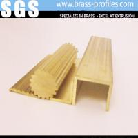 Buy cheap Lead Brass Special Shapes / Copper Extruding Profiles Exporter from wholesalers