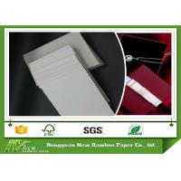 Wholesale Chemical - Mechanical Pulp Laminated / Solid Carton Grey Paperboard 1000gsm from china suppliers