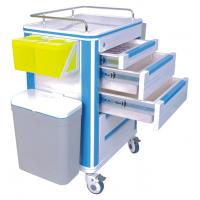 Wholesale 3 Drawer Aluminum or Stainless Steel Hospital Medical ABS Nursing Carts from china suppliers