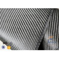 Wholesale 3K 200g 0.3mm Twill Weave Carbon Fiber Fabric For Reinforcement , Thermal Insulator Materials from china suppliers