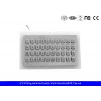 Wholesale Rugged Water proof Panel Mount Keyboard Metal , mini keyboard industrial with 40 Keys from china suppliers