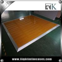 Wholesale Fashion cheap portable wooden dance floor wholesale portable white and black dance floor from china suppliers