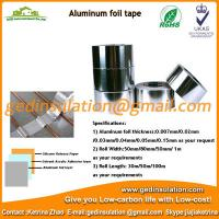 Wholesale Hot sell aluminium foil with one side adhesive pipe cover from china suppliers