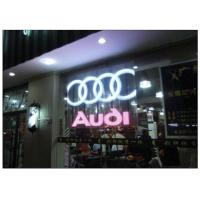 Wholesale P10 / 12 Clear Transparent Glass Advertising LED Display for Shopping Mall Facade from china suppliers