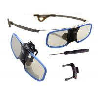Wholesale Cinema Recharged Full HD 3D Glasses , Active Shutter Glasses Support Blu - Ray from china suppliers