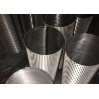 Wholesale Wedge Wire Screen Cylinders Stainless Steel Seawater Filter Element from china suppliers