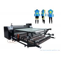 Wholesale 60cm Oil Drum Roller Heat Transfer Machine Garment 1.7M Printing Width from china suppliers