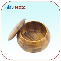Wholesale Round Pine Wood Box for Tea/Chess Pieces/Candy from china suppliers