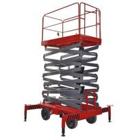 Wholesale 500Kg Loading Capacity Hydraulic Mobile Scissor Lift with 6 Meters Platform Height from china suppliers