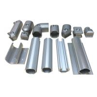 Wholesale Anodized Aluminum Tube Flexible Pipe Fitting Ebow Connectors for Industial Pipe Rack from china suppliers