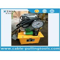 Wholesale 220V Transmission Line Stringing Tools High Pressure Electric Hydraulic Pump 700bar , 1000Psi for Power Supply from china suppliers