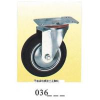 Wholesale Industrial Caster rubber caster swivel plate 036 from china suppliers