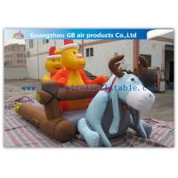 Wholesale Cartoon Inflatable Holiday Decoration , Inflatable Christmas Yard Decorations from china suppliers