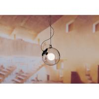 Quality Transparent Glass Hanging Pendant Lights ,  UL Lighting Fixtures for sale