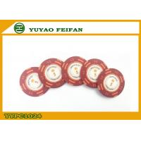 Wholesale Casino Quality Custom Clay Poker Chips With Two Side Stickers from china suppliers