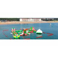 Wholesale Customized Kids Giant Inflatable Water Park for Sea / Lake / Ocean from china suppliers