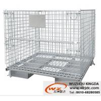 Buy cheap Collapsible mesh wire basket from wholesalers