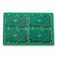 Wholesale High-density Multilayer PCBs with 0.1/0.1mm Minimum Width/Spacing and 0.2mm Minimum Via Diameter from china suppliers
