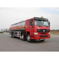 Wholesale 8x4 HOWO 30000 liter fuel tanker truck from china suppliers