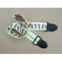Wholesale High quality security nylon guitar strap with custom logo from china suppliers