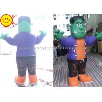 Wholesale Cosplay Green Man Inflatable Shrek Costume Mobile Cartoon Character from china suppliers
