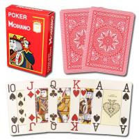Wholesale Modiano Italian Poker Game Playing Cards - red Poker 4 Jumbo Index|Single Card Deck - 100% Plastic Made in Italy from china suppliers