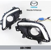 Wholesale MAZDA 5 DRL LED Daytime Running Light Car front lights retrofit daylight from china suppliers