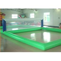 Wholesale Floating Inflatable Water Sports Gmaes Toys Volleyball Inflatable Court from china suppliers