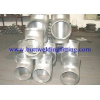 Wholesale UNS S31803 Seamless / Welded Duplex Stainless Steel Equal Tee ASTM A815 from china suppliers