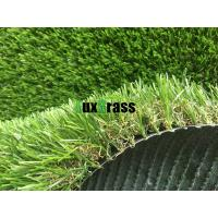 Wholesale Artificial Turf For School  High Resilience / Skid Resistant Landscaping Synthetic Grass With 12500 Dtex from china suppliers