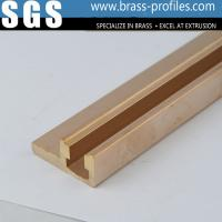 Wholesale C38500 Metal Alloy Copper Brass Extrusions Sections for Electronic from china suppliers