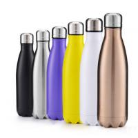 Wholesale Virson high quality 500ml drinking bottle stainless steel water bottle from china suppliers